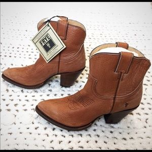 FRYE Billy Heel Short boots